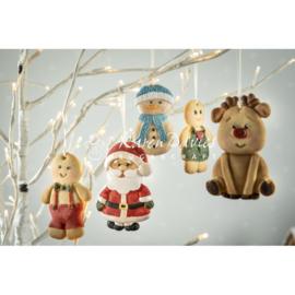 Christmas Cookie silicone mold Karen Davies