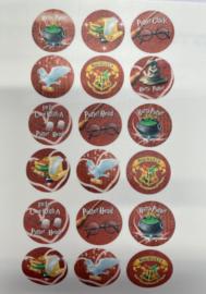 Harry Potter eetbare print voor cupcakes