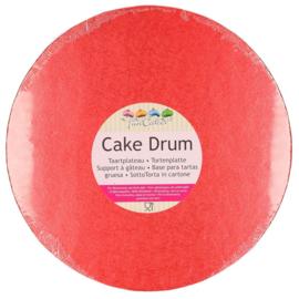 30,5 cm RODE ronde Cake Drum