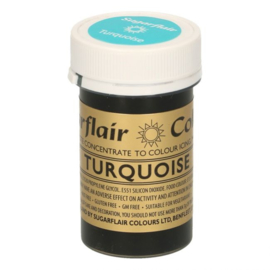 Sugarflair Paste Colour Turquoise