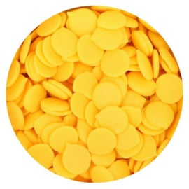Gele Deco Melts / candy melts 250g Funcakes