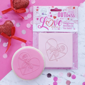 """""""Wrapped Heart """" Outboss Valentine Sweetstamp"""