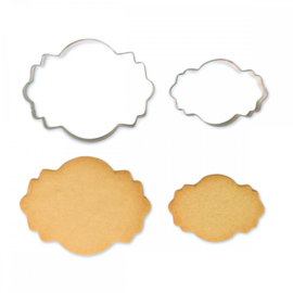PME Cookie and Cake Plaque Style 4 Set/2