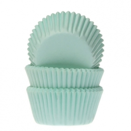 015010-1 HOM MINI Baking Cups Mint Groen