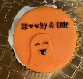 meisjes spook  - Halloween - fondant stempel - PartyStamp - Outbosser