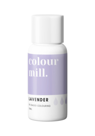 LAVENDER Colour Mill oil based food colouring