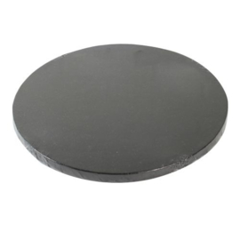 25 cm zwarte ronde Cake Drum