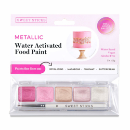DOLL HOUSE  mini palette Water Activated Edible Art Paint