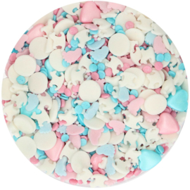 Gender Reveal sprinkle medley