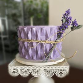 Origami Moderna Textuur chocolade mat voor om een taart