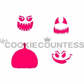 333119 Cookie Countess Stencil build a pumpkin1