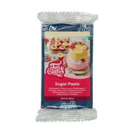 DENIM  Blue Funcakes Rolfondant  250 Gram