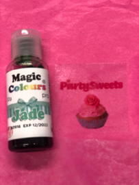 JADE Magic color Pro Gel met hoog pigment gehalte