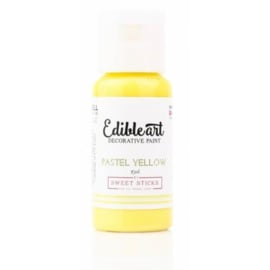 PASTEL YELLOW Edible art decorative paint 15 ml