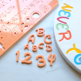 Sweet Stamp MAGICAL  full set Upper & Lowercase, Numbers & Symbols