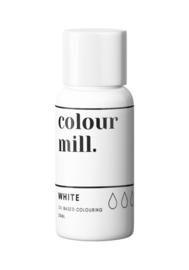 WHITE Colour Mill oil based food colouring 20 ml