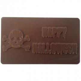 0231501 Maak een Happy Halloween chocolade reep