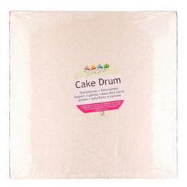 30,3 cm rose gold vierkant Cake Drum
