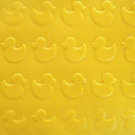 bad eendjes structuur Mat  voor cupcakes en taarten