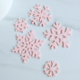 Snowflakes Elements  set Sweet Stamp 5 Delig