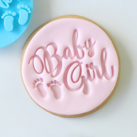Baby Girl Cookie/ Cupcake embosser