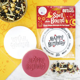 SPELL BOUND HAPPY BIRTHDAY - Outboss-expressions- Sweetstamp