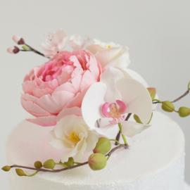 Flowerpaste / Gumpaste wit 250 Gram Funcakes
