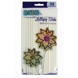 0070013 PME Lollipops Sticks 15,2 cm 35/Pk