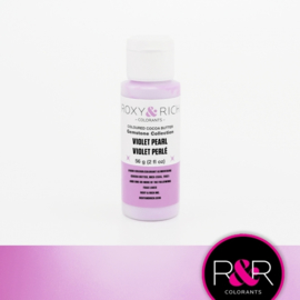 Roxy & Rich Gemstone Pearl Cacoabutter covering VIOLET PEARL