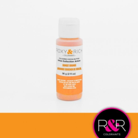 SUNSET ORANGE - Artist collection cocoabutter chocolate colouring  Roxy & Rich