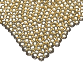Metallic Gold SMALL choco pearls - Happy Sprinkles