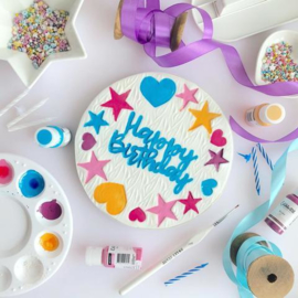 HAPPY BIRTHDAY Sweet Stamp  elements set 6 Delig