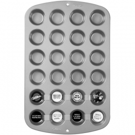 mini cupcake 24 bakvorm Wilton Recipe Right® 24 Cup Mini Muffin Pan
