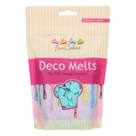 LICHT BLAUWE Deco Melts / candy melts