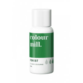 FOREST Green Colour Mill oil based food colouring