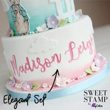 Sweet Stamp ELEGANT full set Upper & Lowercase