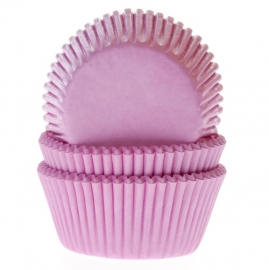 1210 House of Marie  Cupcake Baking Cups Licht Roze 50/Pk
