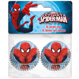 77435 Spiderman MINI Cupcake Baking Cups 60/pk
