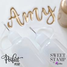 Stamp PERFECT POUR BOTTLES