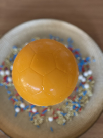 Voetbal  3 delige chocolade acetaat mal
