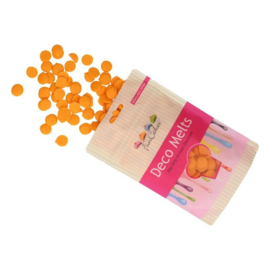 Oranje Deco Melts / candy melts Funcakes 250g