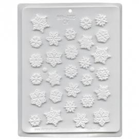 Snowflakes Hitte bestendige mal om eetbare sneeuwvlokjes te maken