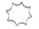 012033 Spinnenweb metalen uitsteker groot