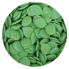 Groene Deco Melts / Candy Melts  Green  FUNCAKES 250g