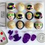 DAY OF THE DEAD / sugar scull Sweet Stamp  elements set 6 Delig