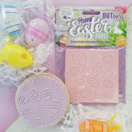 DANCING EGGS - Outboss -EASTER- Sweetstamp