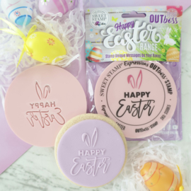 HAPPY EASTER EARS - Outboss -EASTER- Sweetstamp
