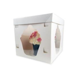 Luxe taartdoos voor Giant Cupcake taart