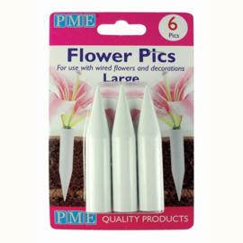 flower picks groot 6  per pack