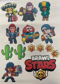 Brawl Stars eetbare print